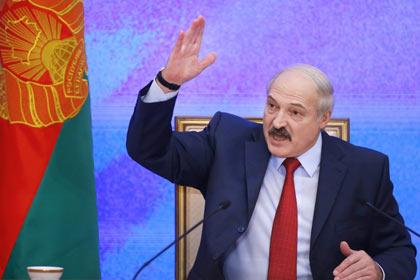 Лукашенко отверг идею о единой валюте с Россией