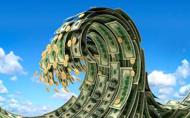 Центробанк продал на внутреннем валютном рынке в январе 2,34 млрд долларов