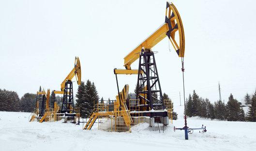 Баррель нефти Brent подешевел до $56,3