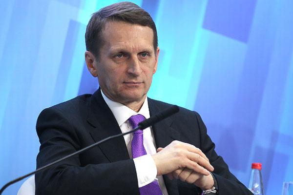 Нарышкин: Крупные инфраструктурные проекты свернуты не будут