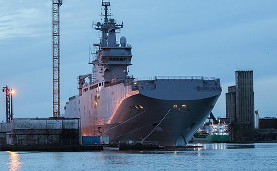 Россия и Франция разошлись в цене разрыва контракта по «Мистралям»