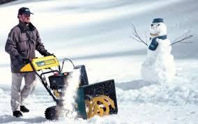 Перспективные новогодние бизнес-идеи – уборка снега