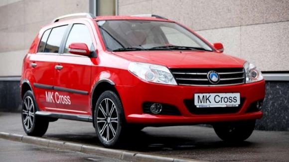 Хетчбэк Geely MK Cross покидает российский рынок