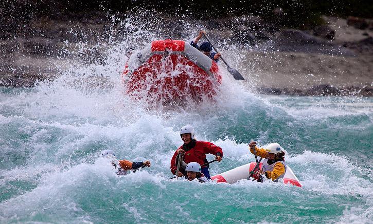 Лучшие реки мира для рафтинга