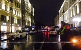 Захвативший отделение Ситибанка в центре Москвы мужчина сдался полиции