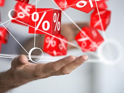 Максимальная ставка топ-10 банков по вкладам в рублях снизилась до 8,78%