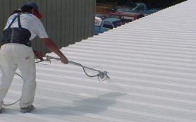 Покраска крыши своими руками