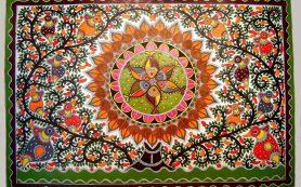 Индийская живопись мадхубани
