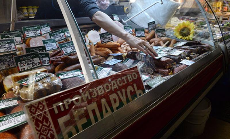 Россия ввела особый контроль на продукцию из Белоруссии