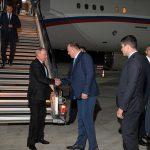 Путин прибыл в Калининградскую область с рабочей поездкой