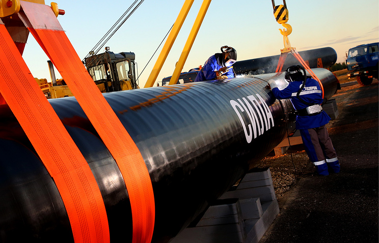 «Газпром» до конца года построит более 1300 км «Силы Сибири»