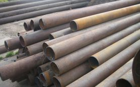 Продажа стальных труб б/у