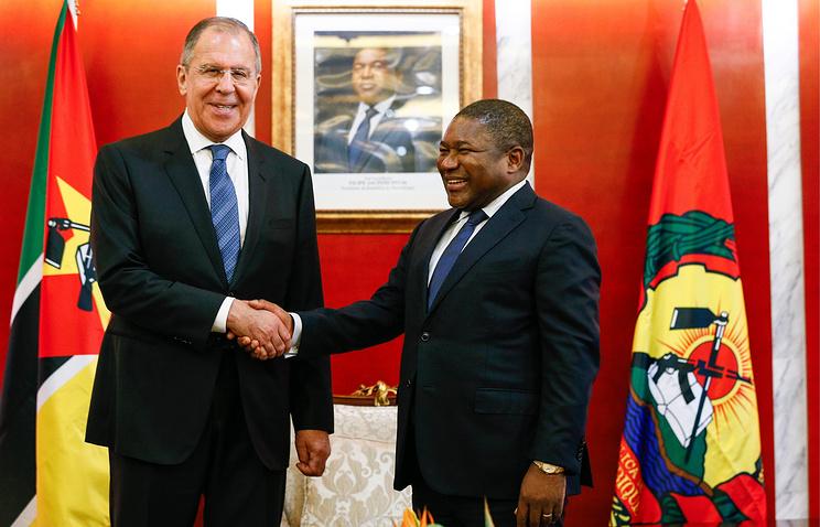 Россия и Мозамбик заявили о стремлении к стратегическому сотрудничеству