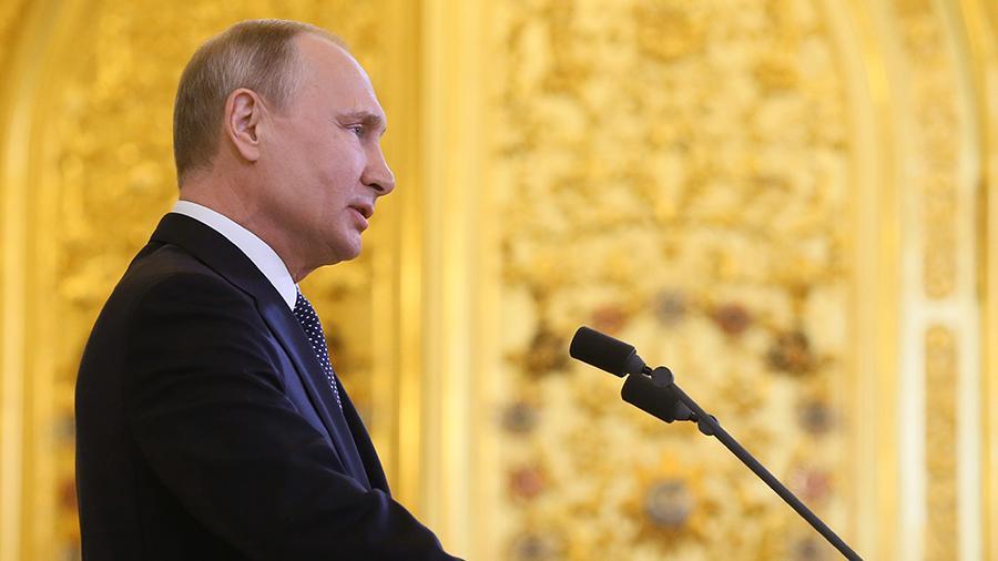 Путин поставил задачи правительству до 2024 года