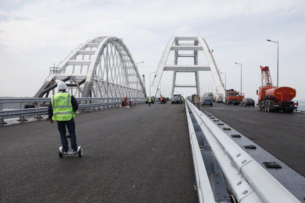Опубликована схема движения транспорта до Крымского моста