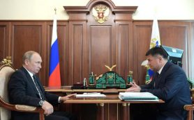 Путин обсудил с Тарасенко развитие Приморского края