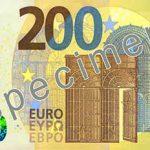 ЕЦБ представил новые банкноты номиналом 100 и 200 евро
