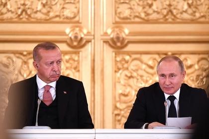 Путин поспорил с Эрдоганом о ценах на газ