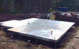 Особенности закладки и использования свайно-плитного фундамента