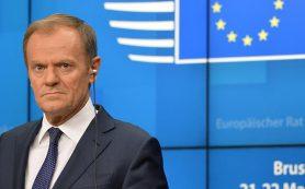 Туск выразил надежду на последовательную политику Зеленского по интеграции с ЕС