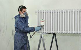 Термостойкая краска по металлу