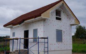 Теплоизоляция фасада с помощью обычного пенопласта