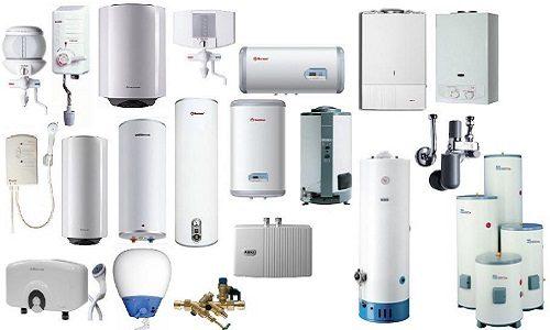 Разновидности современных водонагревателей