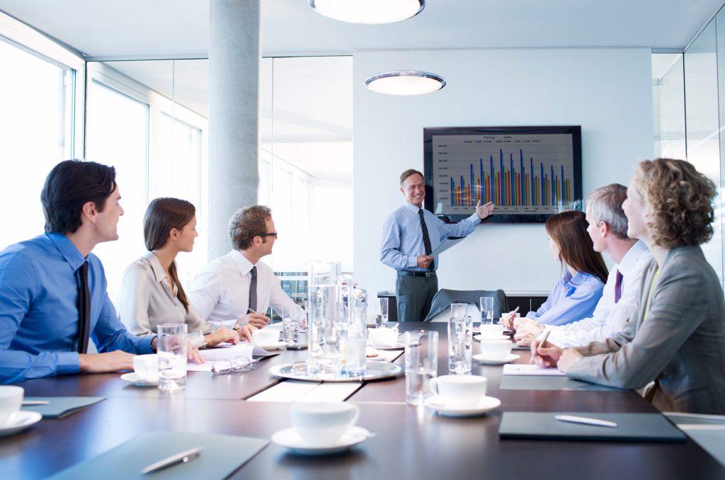 Особенности бизнес-презентаций