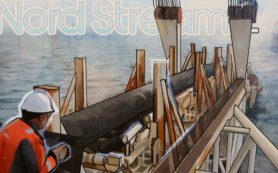 Прокладка Nord Stream 2 стартовала в акватории Дании