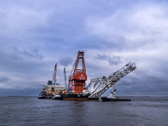 В Дании отложили строительство «Северного потока — 2»