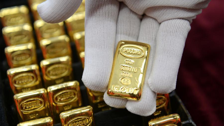 ЦБ заявил об отсутстви планов по возобновлению покупки золота
