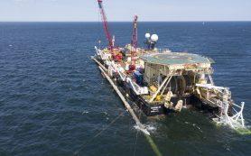 «Академик Черский» начал укладку «Северного потока-2» в водах Дании
