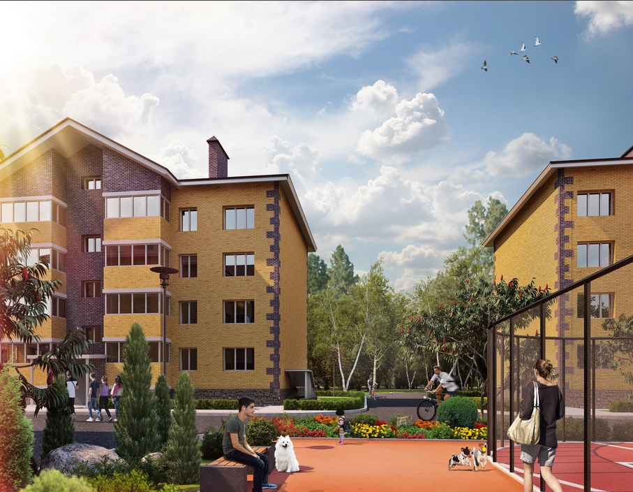 Комфортное жильё в «Уют-Сити Березовский»