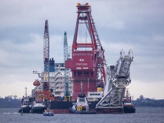 Немецкий депутат призвал ввести санкции против США из-за «Северного потока-2»