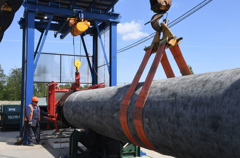 МИД РФ: Ввод «Северного потока-2» не повлияет на поставки через Украину