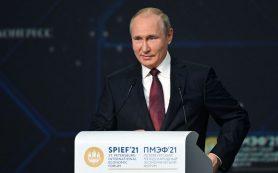 Путин: Завершена укладка первой нитки «Северного потока — 2»