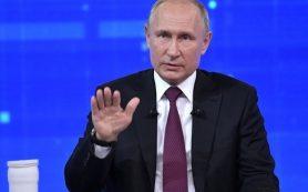 В Кремле объяснили отказ отменять прямую линию с Путиным