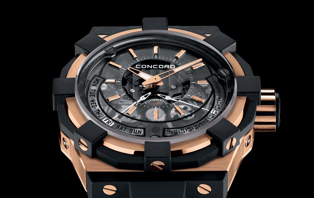 C1 Retrograde. Швейцарские часы