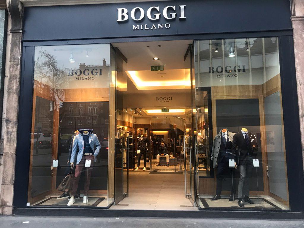 Торговая площадка BOGGI MILANO – одежда и обувь из Италии