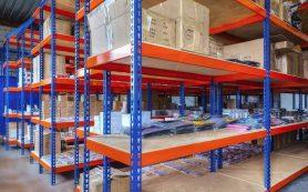 Полочные стеллажи – идеальное решение для склада