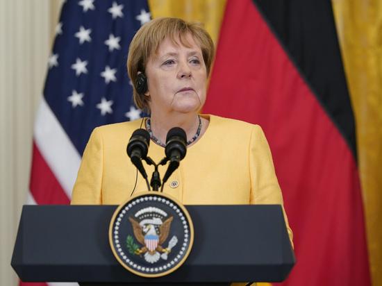 «Меркель будет давить на Украину из-за «Северного потока-2»