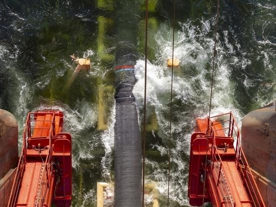 По «Северному потоку — 2» предложили качать водород