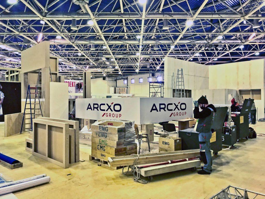 Строительство выставочных стендов и рекламных конструкций