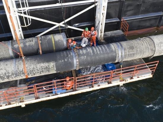 Взвешена возможность продажи «Газпромом» «Северного потока-2»