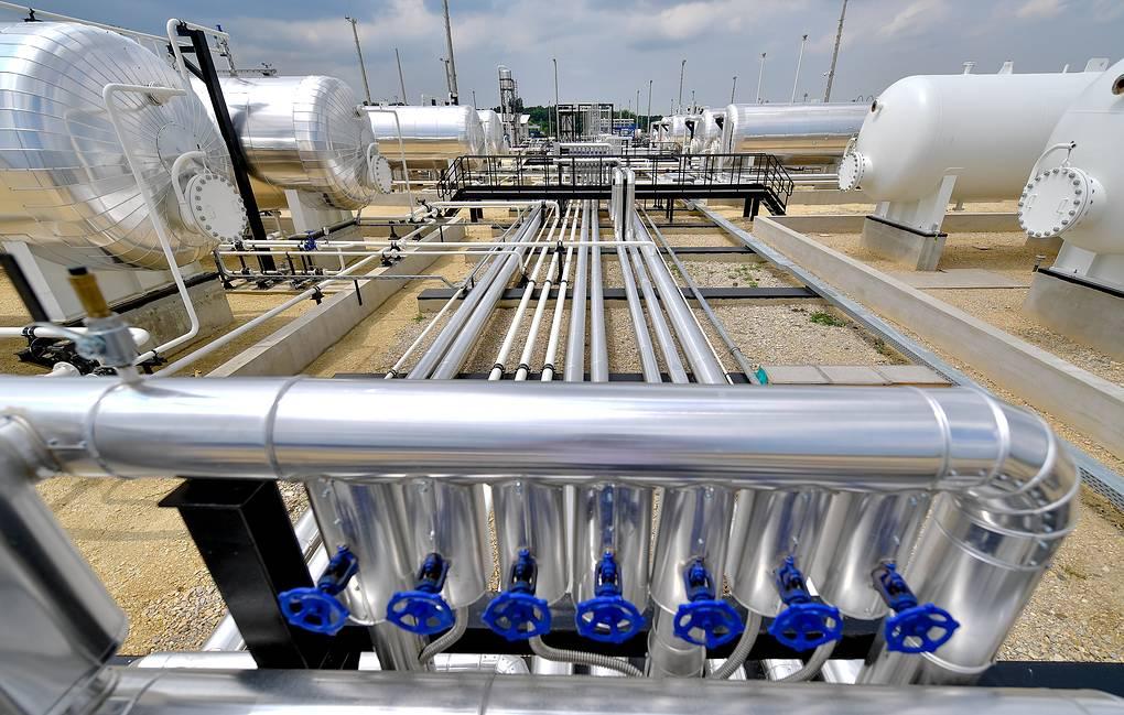 Цена газа в Европе впервые в истории превысила $1 тыс. за 1 тыс. куб. м