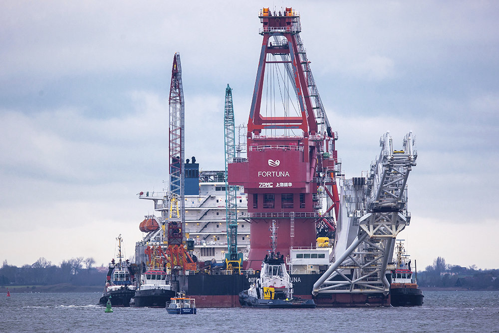 Строительство газопровода «Северный поток-2» полностью завершилось
